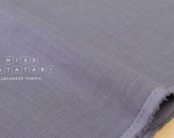 Japanese Fabric Kokka Oeko-Tex solid double gauze - colour 24 - 50cm