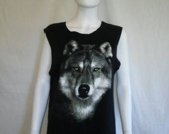 Closing shop SALE 40% off Wolf Wolves tank top t shirt