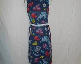 Closing Shop 40%off SALE 60's 70's floral maxi long dress, Midge Grant boho bohemian hippie hippy dress