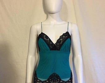 Closing Shop 40%off SALE Mesh lace sheer cami tank top shirt