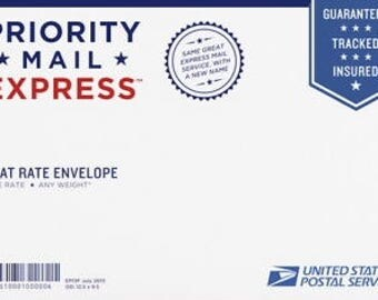Priority Mail Express 1-2 day shipping