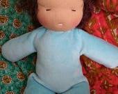 Waldorf inspired doll-toddler bedhead