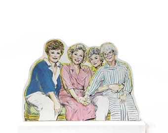 Golden Girls Wooden Standee