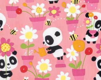 "Designer David Walker ""Pandas"", Garden Party in Pink, yard"