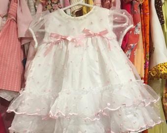 Ruffle Dress 6/9 Months