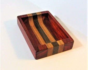 Dresser Valet Made of Three Woods