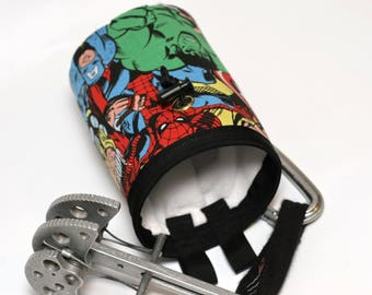 America's Heroes, A Hand Crafted Chalk Bag and Belt, Rock Climbing