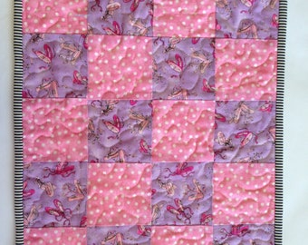 Quilted Kids Placemat / Ballerinas