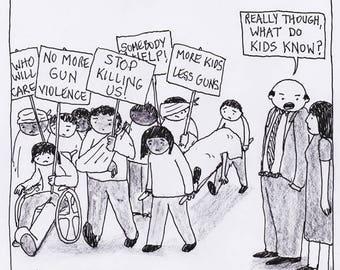 What Do Kids Know? CARTOON