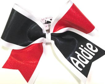 how to make a layered cheer bow