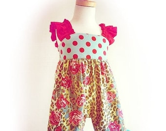 SALE Vintage Baby Romper Pattern Tutorial 3 months - 6 girls shorts PDF Instant Whimsy Couture