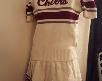 Authentic 1950's Cheerleader outfit