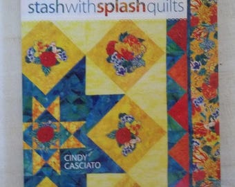 Items similar to Quilting Book Stash with Splash Quilts by Cindy ... : quilting items - Adamdwight.com
