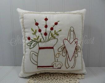 Farmhouse Gatherings Decorative Pillow - Farmhouse Decor - Gift For Wife - Farmhouse Style Throw Pillow - Accent Pillow