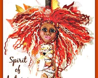 Spirit of Autumn - OOAK Spirit Doll