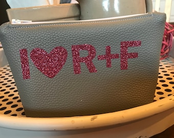 I Heart R+F mini Faux Leather Bag