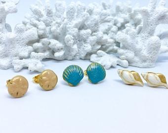 Seashell Trio - Blue Ocean