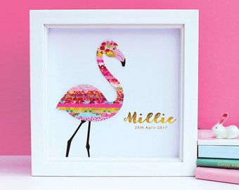 Personalised Flamingo Art