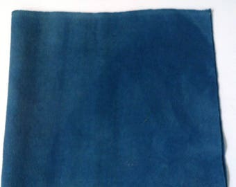 Plant Dyed Wool Medium Indigo