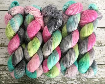 RAINSHINE - Hand Dyed Yarn - MCN Sock Yarn Fingering - Ready to Ship - Vivid Yarn Studio