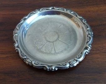 Vintage, Small, Silver Plated Dish