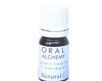 Oral Alchemy--Natural Gum Care--Tooth Oil--Tooth and Gums--Brighten Teeth--Oral Care Treatment--Natural Toothpaste