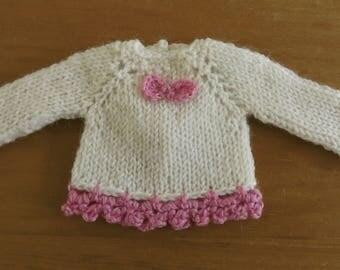BLYTHE  SWEATER/JUMPER, Blythe outfit, Blythe clothes, Blythe lilac top