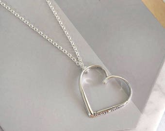 Sterling Silver Sisters Necklace