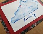 Mini watercolor, Kentucky...