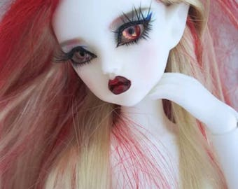 FLAME white fairy elf Narah bjd ball joint doll slim mini msd