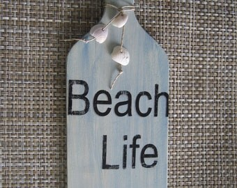 Beach Life Coastal Shell Board