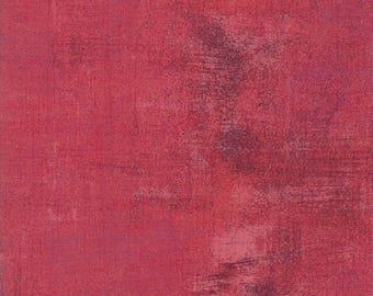 Grunge Basics in Rapture Rose by Basic Grey for Moda Fabrics 1/2 Yard