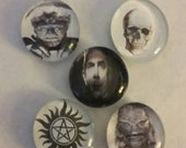 Monster Magnets -SALE- Discontinued item - Quantities listed are what is available - Wolfman - Dracula - Skull - Creature - Supernatural