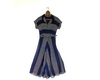 20% off sale 1940s Vintage Dress   For Keeps   1940s Dress   XXS XS
