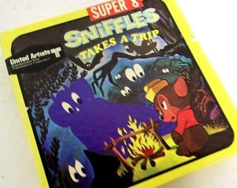 Sniffles Takes A Trip - Super 8 reel film - United Artists Entertainment