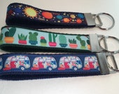 Solar System Cactus and Camper Key Fobs