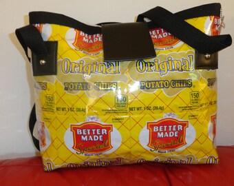 Potato chip purse