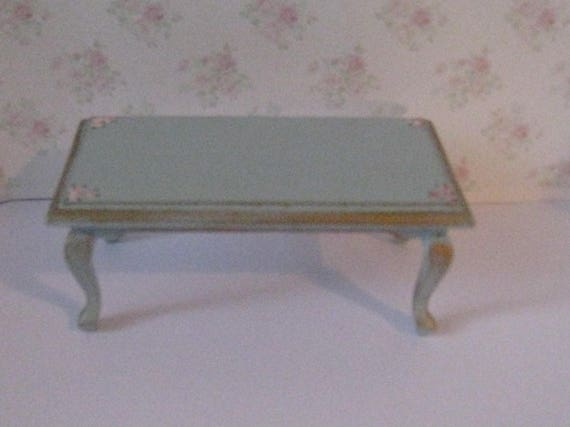 Dollhouse Coffee Table Duck Egg Blue Blue Table Living Room