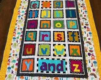 Abc quilt | Etsy : abc quilt - Adamdwight.com