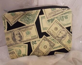 Money Pencil Pouch, Makeup Bag, Gadget Case, Medicine Bag, Artists Storage Bag, Medicine Pouch, Makeup Pouch