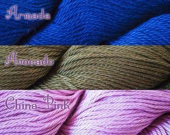 Cascade Ultra Pima DK Weight 100% Cotton Yarn