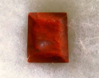 33 carat ...... ruby faceted gemstone ..... 19 x 15 x 9 MM