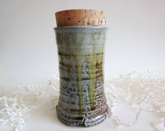 Pet Urn, Ash keeper Ceramic Urn, Cremation Urn, Ashes Jar, Ashes Holder Salt fired urn