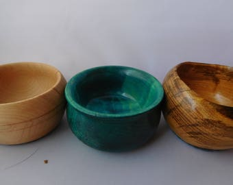Hand turned Wooden Notion Bowls