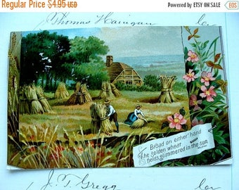 ONSALE Antique  Lion Coffee Trading Card