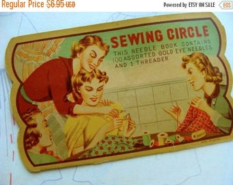 ONSALE Gorgeous Antique Needle Book great for Sewing Room 116