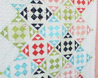 Pink Lemonade Quilt Pattern (Paper)