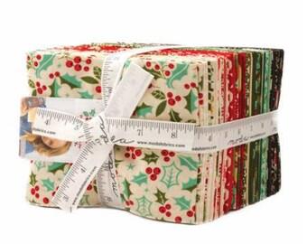 SUMMER SALE - Berry Merry - Fat Quarter Bundle (35) - Basic Grey for Moda Fabric