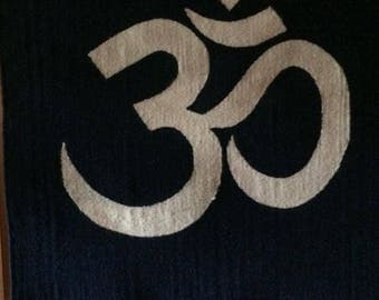 Yoga Woven Wall Hanging to Decorate Your Yoga Studio with the Om (Aum) Symbol