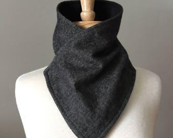 Mag Wrap - Charcoal Herringbone